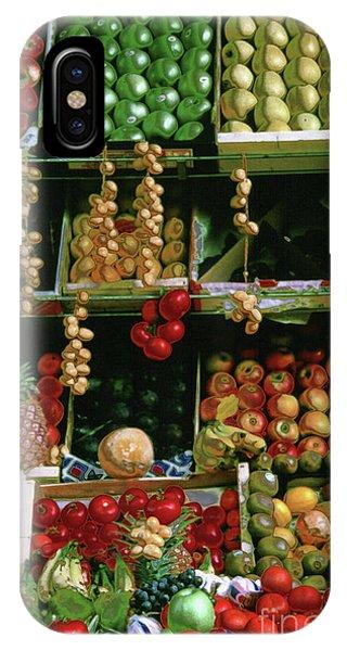 Oil Painted Faux Paris Fruit Display IPhone Case