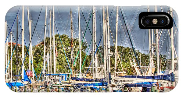 Oil Painting Marina IPhone Case