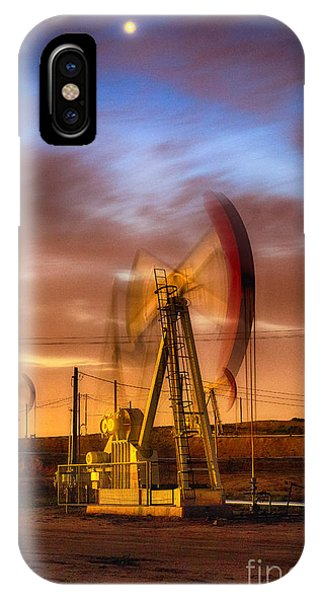 Oil Rig 1 IPhone Case