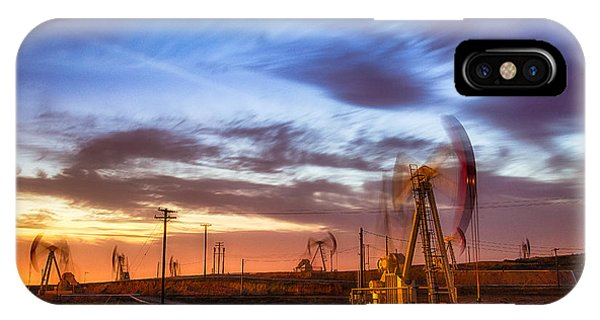 Oil Rigs 3 IPhone Case