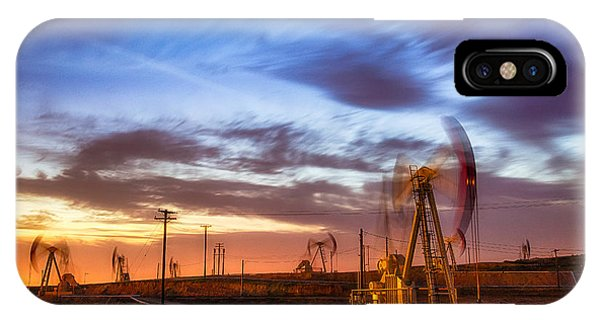 Oil Rigs 3 IPhone Case