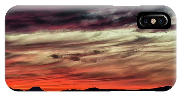 IPhone Case featuring the photograph Ojo Caliente Sunset by Britt Runyon