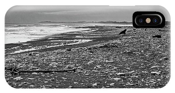 IPhone Case featuring the photograph Okarito Beach - New Zealand by Steven Ralser