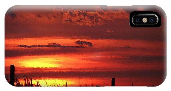 Oklahoma Sky At Daybreak  IPhone Case