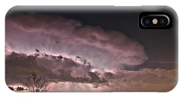 Oklahoma Sky Of Fire IPhone Case