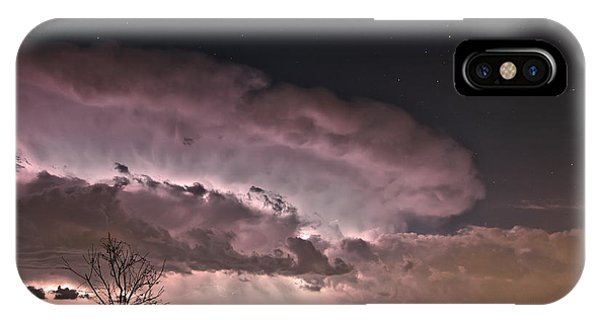 Oklahoma Sky Of Fire IPhone Case