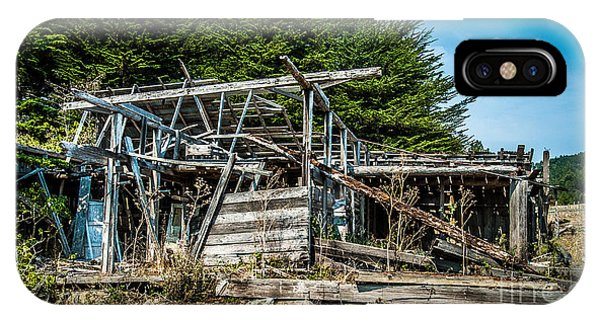 Old Abandoned Structure Sonoma County IPhone Case