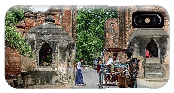 Old Bagan IPhone Case
