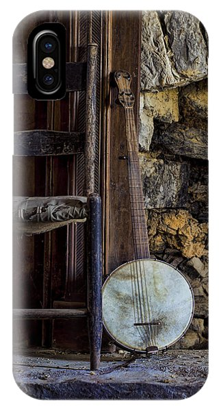 Old Banjo IPhone Case