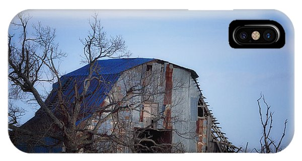 Old Barn At Hilltop Arkansas IPhone Case