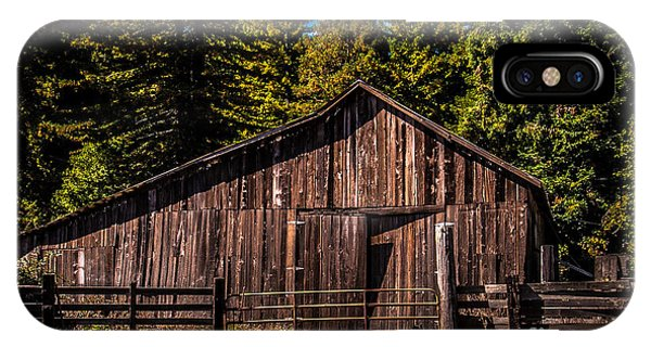 Old Barn Coleman Valley Road IPhone Case