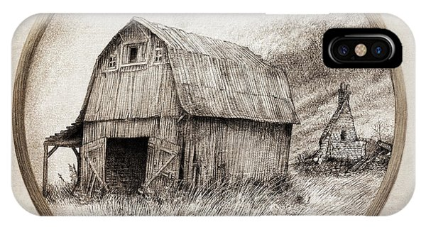Old Barn iPhone Case - Old Barn by Eric Fan
