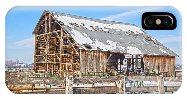 Old Barn In Idaho IPhone Case