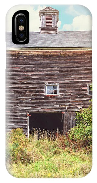 New England Barn iPhone Case - Old Barn In The Sun by Edward Fielding