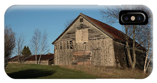 Old Barn On A Hill IPhone Case