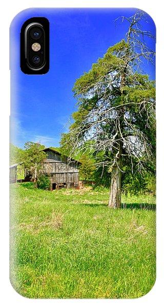Old Barn, Smith Mountain Lake IPhone Case