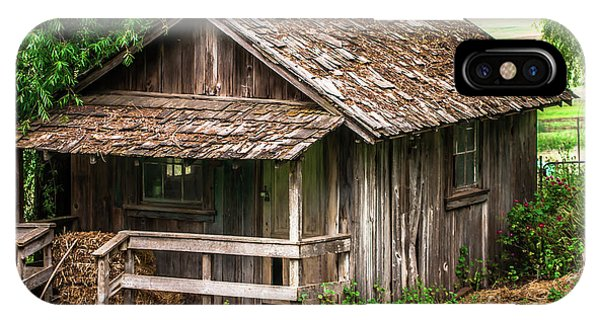 Old Cabin Tolay Ranch Sonoma County IPhone Case