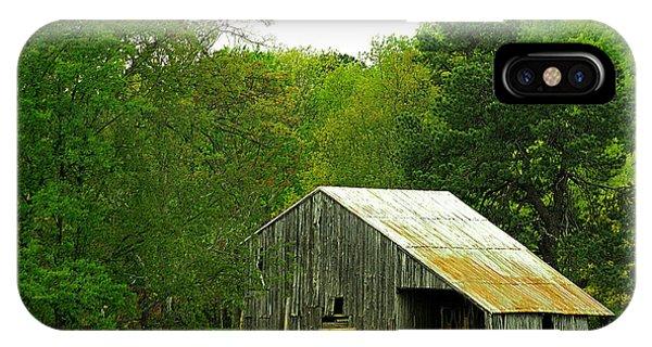 Old Barn V IPhone Case