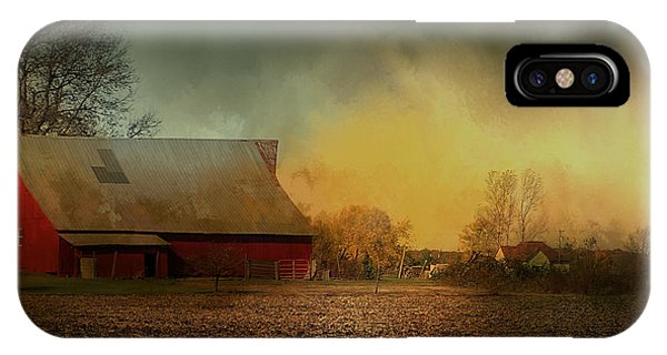Old Barn With Charm IPhone Case