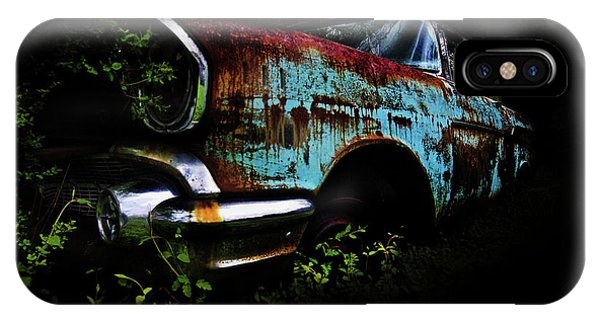 Old Blue Chevy IPhone Case