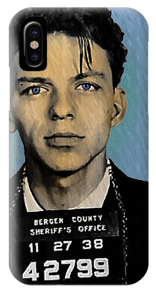 iPhone Case - Old Blue Eyes - Frank Sinatra by Digital Reproductions