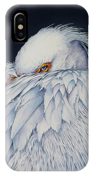 Old Blue Eyes IPhone Case