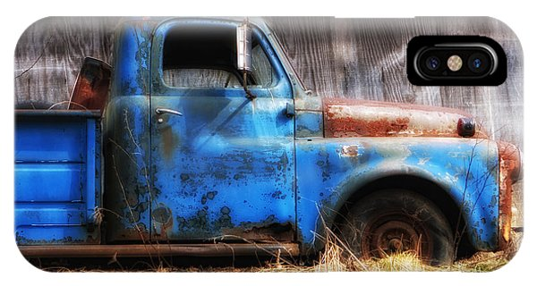 Old Blue Truck IPhone Case