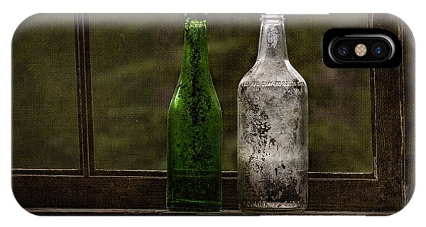 Old Bottles In Window IPhone Case