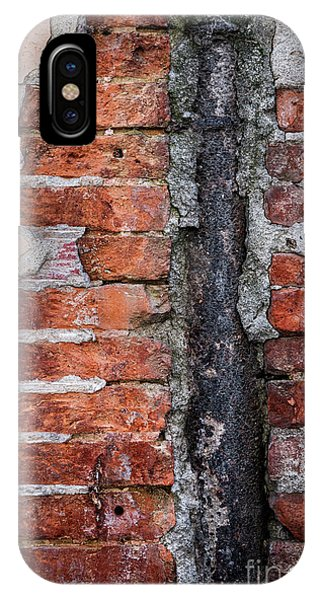 Cement iPhone Case - Old Brick Wall Fragment by Elena Elisseeva