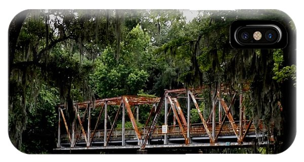 Old Bridge To Town IPhone Case