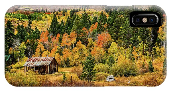 Old Cabin In Hope Valley IPhone Case