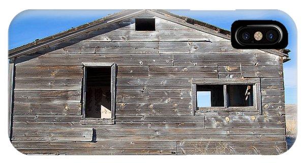 Old Cabin In Idaho, Usa IPhone Case