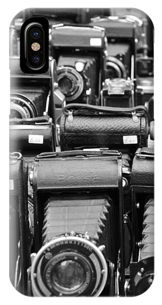 Old Cameras IPhone Case