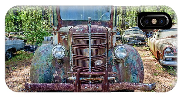Old Car Smile IPhone Case