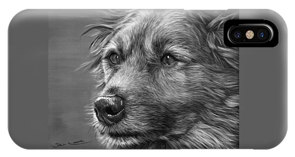 IPhone Case featuring the painting Old Charlie by John Neeve