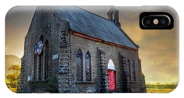 Church iPhone Case - Old Church by Charuhas Images