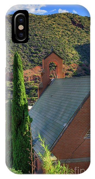 Old Church In Bisbee IPhone Case