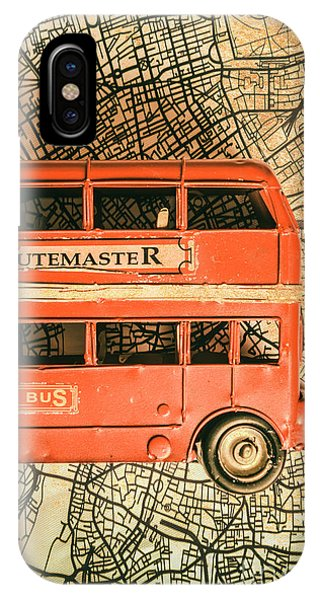 Greater London iPhone Case - Old City Transit by Jorgo Photography - Wall Art Gallery