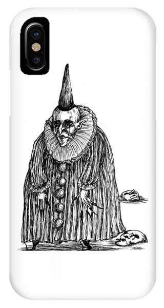 Old Clown IPhone Case