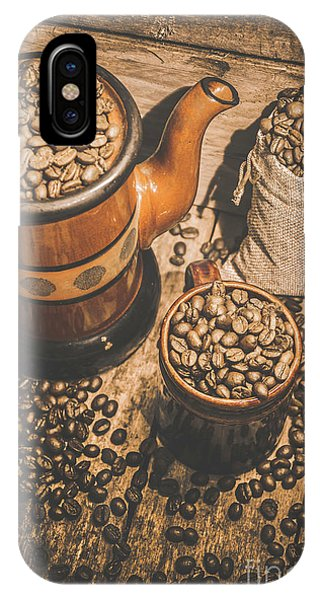 Kettles iPhone Case - Old Coffee Brew House Beans by Jorgo Photography - Wall Art Gallery