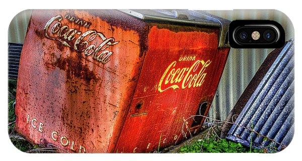Old Coke Box IPhone Case