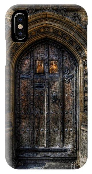 Old College Door - Oxford IPhone Case