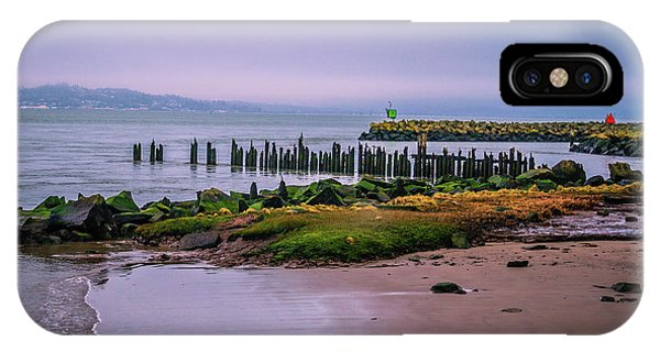 Old Columbia River Docks IPhone Case