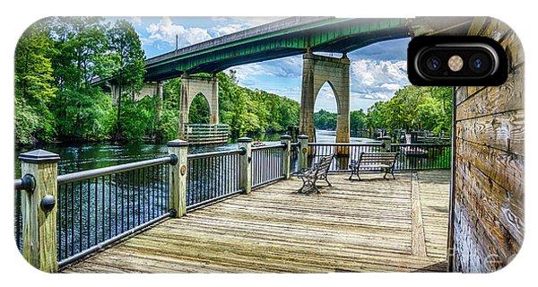 Old Conway Bridge IPhone Case