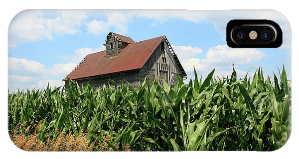 Old Corn Crib IPhone Case