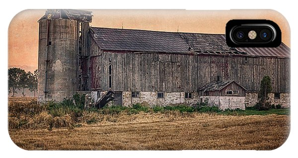 IPhone Case featuring the photograph Old Country Barn by Garvin Hunter