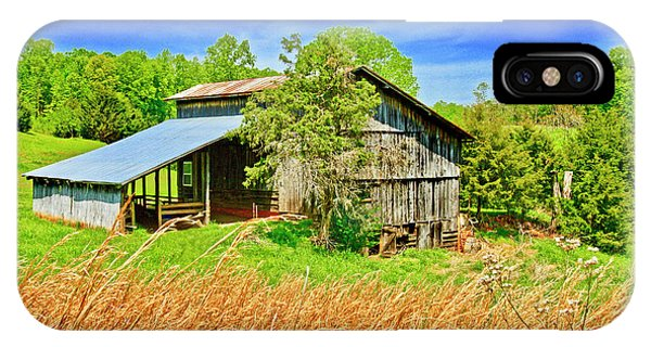 Old Country Barn IPhone Case