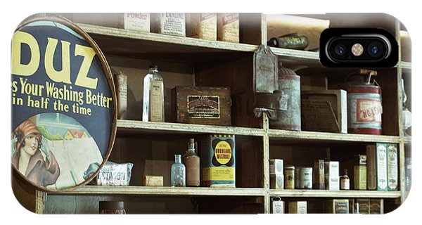 Roxbury iPhone Case - Old Country Store Shelves by Mark Miller