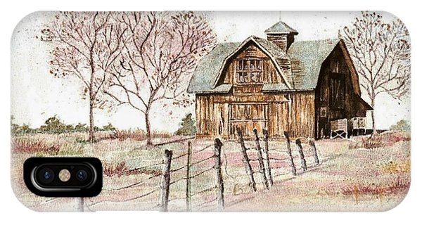 Old Crawford Colorado Barn IPhone Case