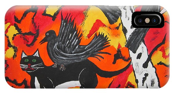Old Crow Rodeo IPhone Case
